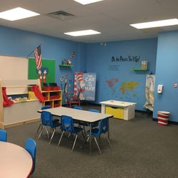 DR. SEUSS ROOM - LITERACY RICH ENVIRONMENT DESIGNED TO HELP STUDENT SCHOLARS DEVELOP A LOVE OF READING.