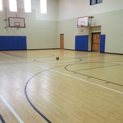 EVERY STUDENT WILL RECEIVE DAILY PHYSICAL EDUCATION IN OUR FRESHLY PAINTED & POLISHED ATHLETIC CENTER.