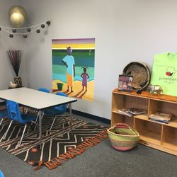 MULTICULTURAL ROOM- STUDENT SCHOLARS WILL LEARN ABOUT PEOPLE OF DIFFERENT RACE, ETHNICITY AND CULTURE.