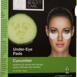 NUMBER FIFTEEN Global Beauty Care Cucumber Under Eye Pads. Find it at: http://globalbeautycare.com