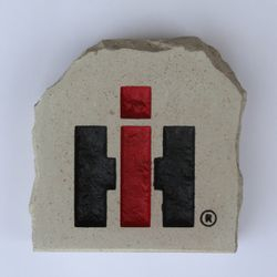 International Logo - Case IH logo Custom Limestone Rock