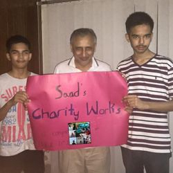 Barrister Zafarullah Khan, Minister of State for Law and Human Rights appreciating my work