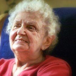 Marie Waage enjoying birthday festivities and family time.