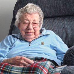 Edyth Tomon still cooks at 100 years of age.
