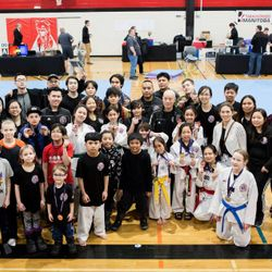 Participants at the Victory Cup Championships. March 16, 2019