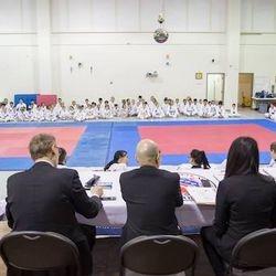 Black belt test April 13