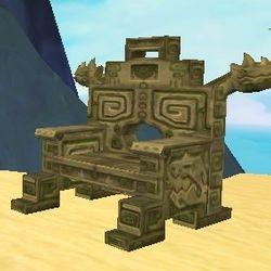 Aztecosaur Throne