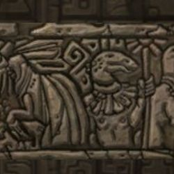 Aztecosaur Mural