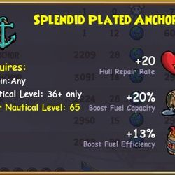 Splendid Plated Anchor