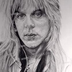 Randy Rhoads/Ozzy Osbourne artwork by Steve Lilly, stevelilart