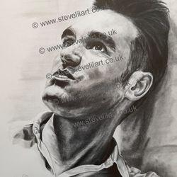 Morrissey/The Smiths artwork by Steve Lilly, stevelilart