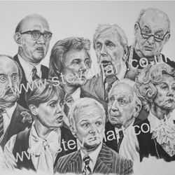 Are You Being Served? portrait by Steve Lilly