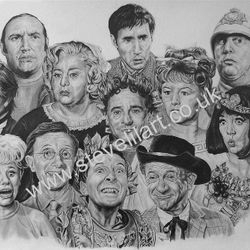 Carry On portrait by Steve Lilly