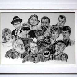 Only Fools and Horses portrait by Steve Lilly