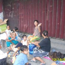 Less fortunate people in Quezon City