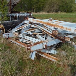 Used Channell Frame Overland Conveyor For Sale