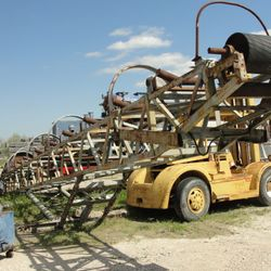 Used Radial Stacker Conveyor