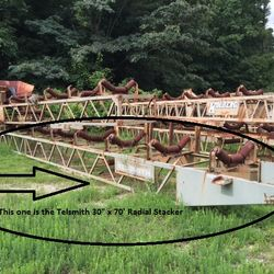 Used Radial Stacker / Stacking Conveyor