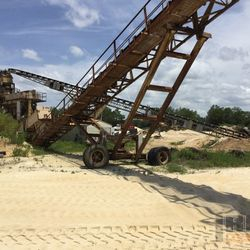 Aggregate Stacking Conveyor