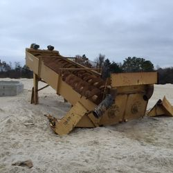 "Used TRIO 44"" X 32' Twin Shaft Sand Screw For Sale"