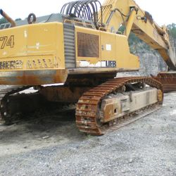 Liehberr R 974 HD Mass Excavator For Sale
