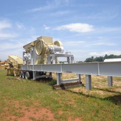 Portable Trio / Jaw Crushing Plant