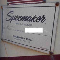 Telsmith 8x20 / Triple Deck / Shaker Screen