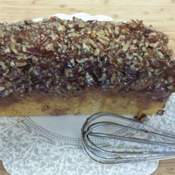 Sweet potato loaf coffee cake