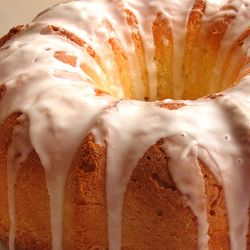 Bunt Lemon pound cake