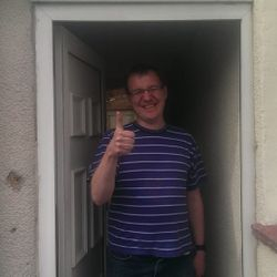 Gateshead Locksmith Happy customer Locksmiths Gateshead www.taylorslocksmiths.co.uk