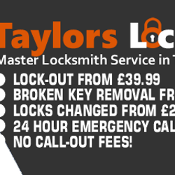 Locksmith in Gateshead www.taylorslocksmiths.co.uk Taylors Locksmiths, Gateshead Locksmith Service