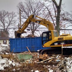 The Tewksbury House site is cleared and ready for the Build