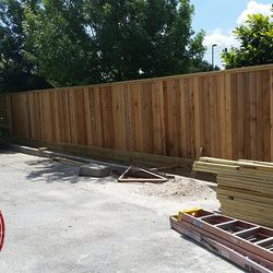 150ft 7 foot tall fence