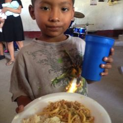 For many children this is the only meal they have each day