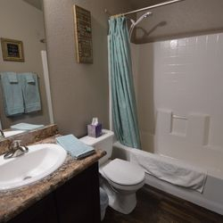 Shared Bath with Bedrooms 2 & 3