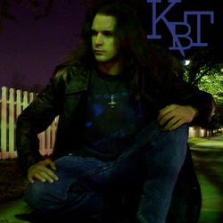 Clint in a promo shot from his musical project Killers By Trade