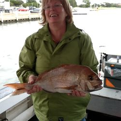 Great catch on one of our fishing services in Melbourne
