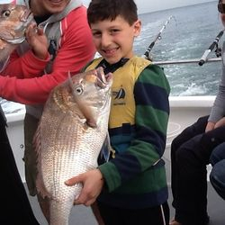 Even the Kids love having a fish with The Reel Thing Charters
