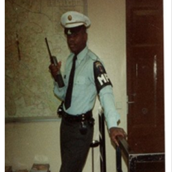 Dr. Cummings-U.S. Army Military Police.