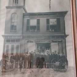 Original Fire House on Main St.