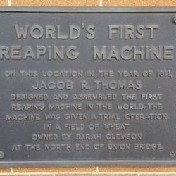 Jacob R. Thomas Reaping Machine