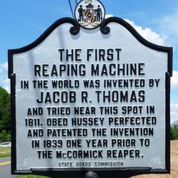 Worlds First Reaping Machine