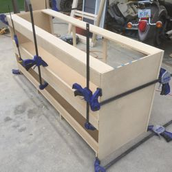 Base cabinet fabrication