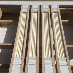Fluted columns fabrication