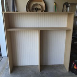 Shelving unit fabrication