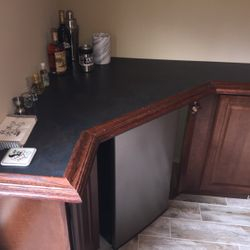 Corner counter top detail