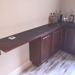 Left side counter top