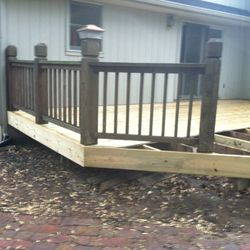 New deck board layout