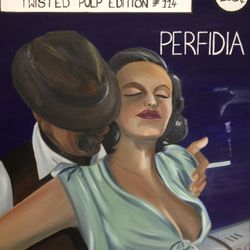 ''Perfidia'' - oil on canvas, 60cm x 75 cm - SOLD