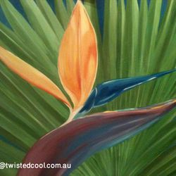 ''Bird of Paradise'' - SOLD